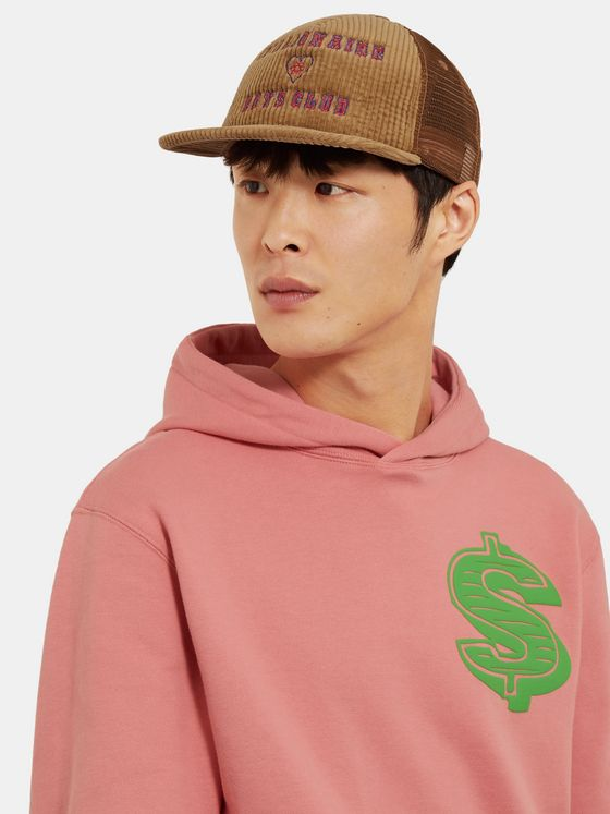 Billionaire Boys Club Logo-Embroidered Cotton-Blend Corduroy and Mesh Baseball Cap