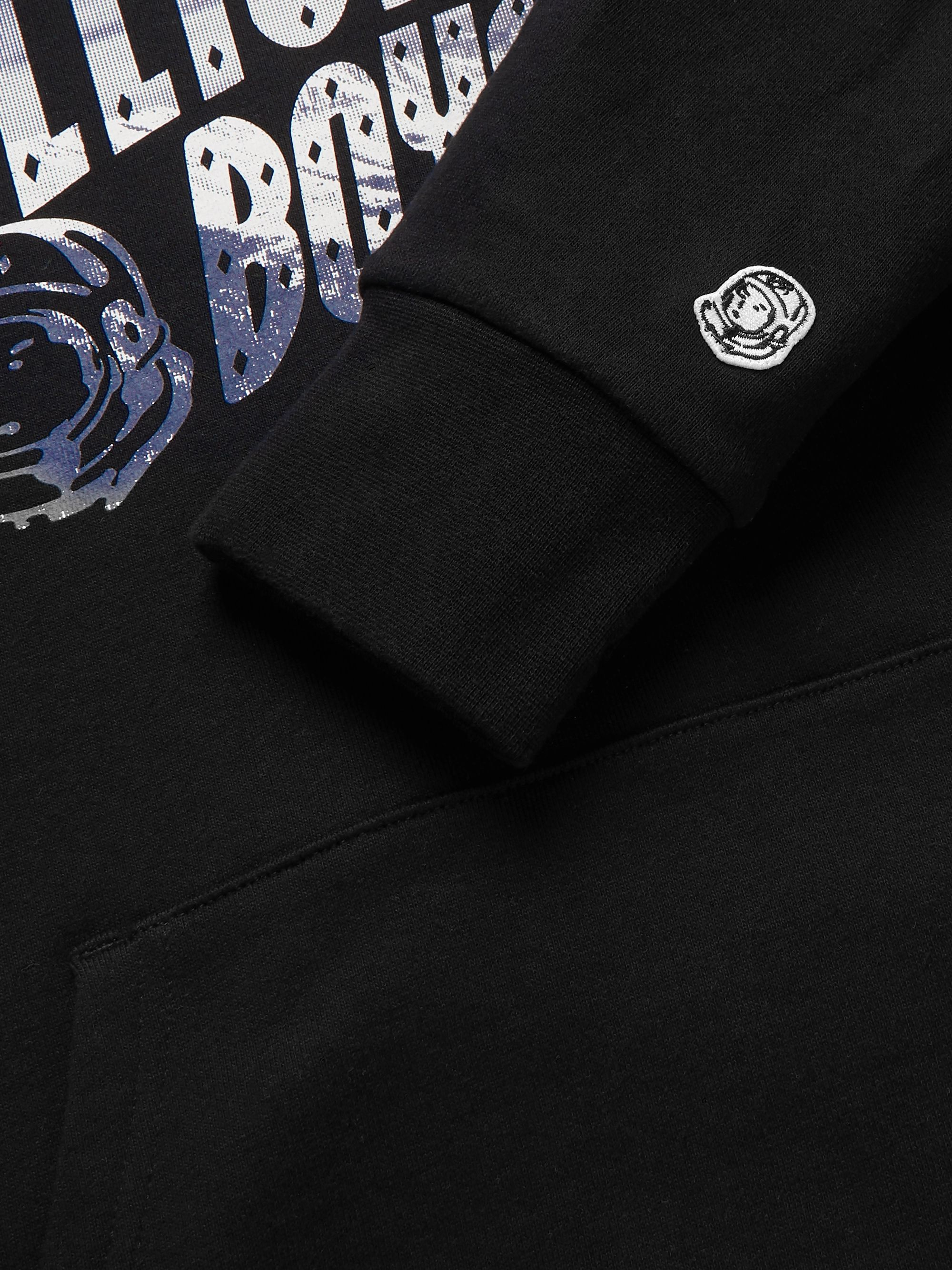 Billionaire Boys Club Logo-Print Loopback Cotton-Jersey Hoodie