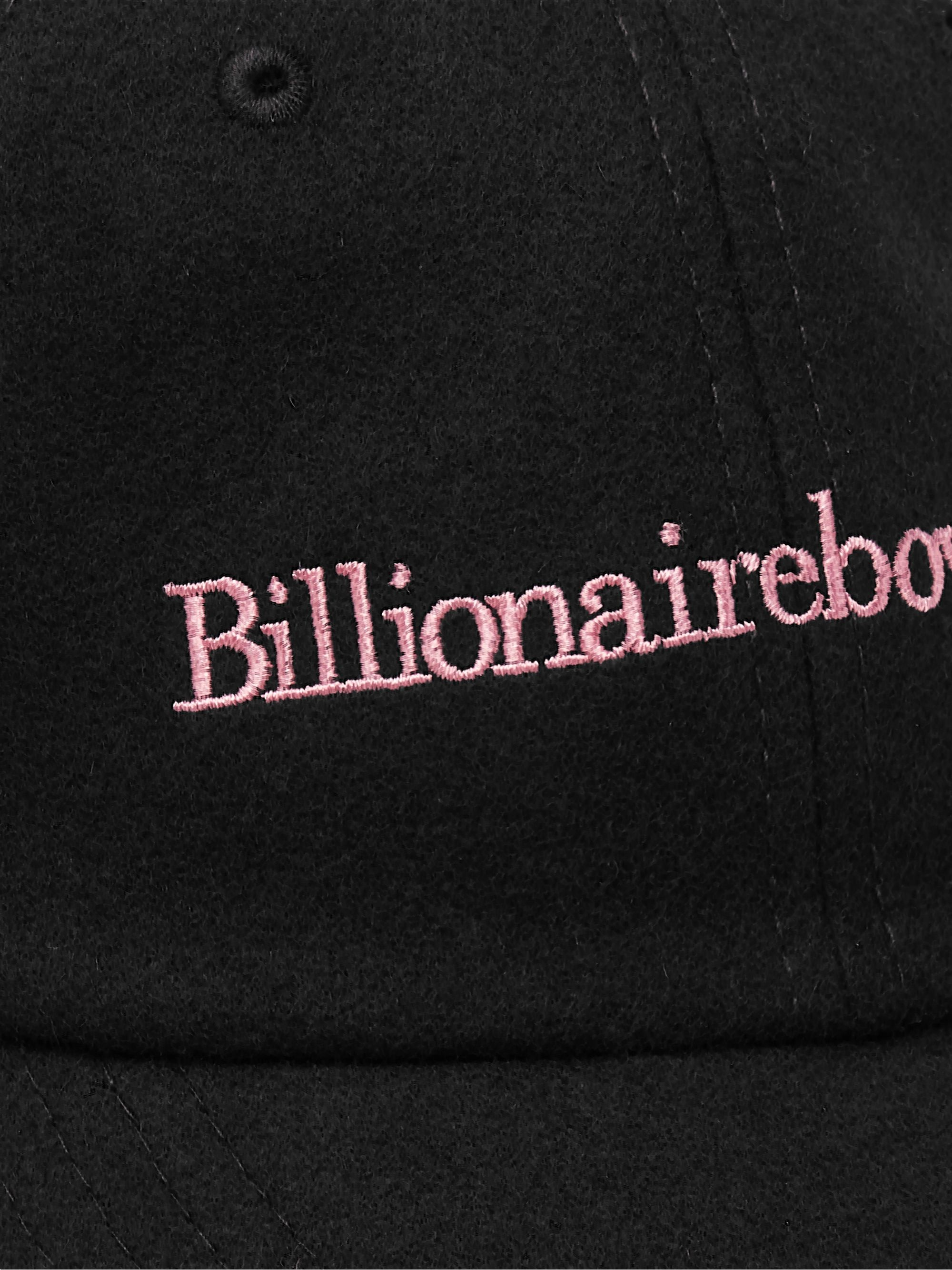 Billionaire Boys Club Logo-Embroidered Brushed Wool-Blend Cap