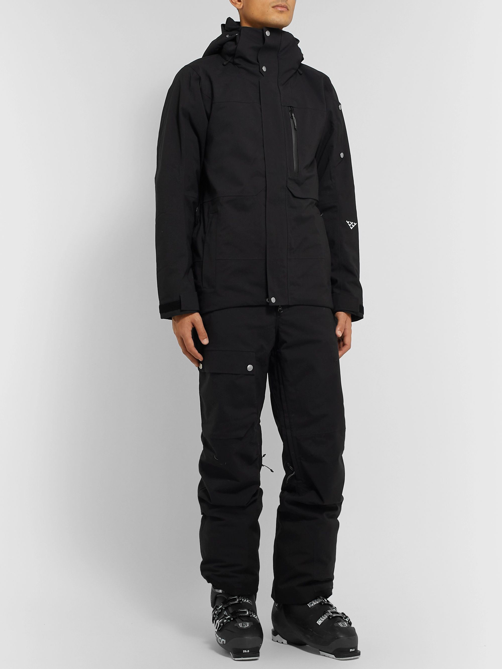 Black Crows Corpus Padded Hooded Ski Jacket