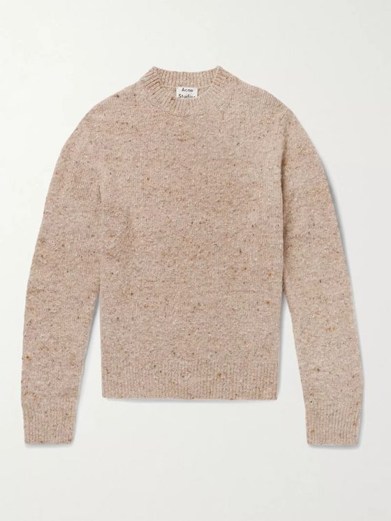 Acne Studios Donegal Wool-Blend Sweater