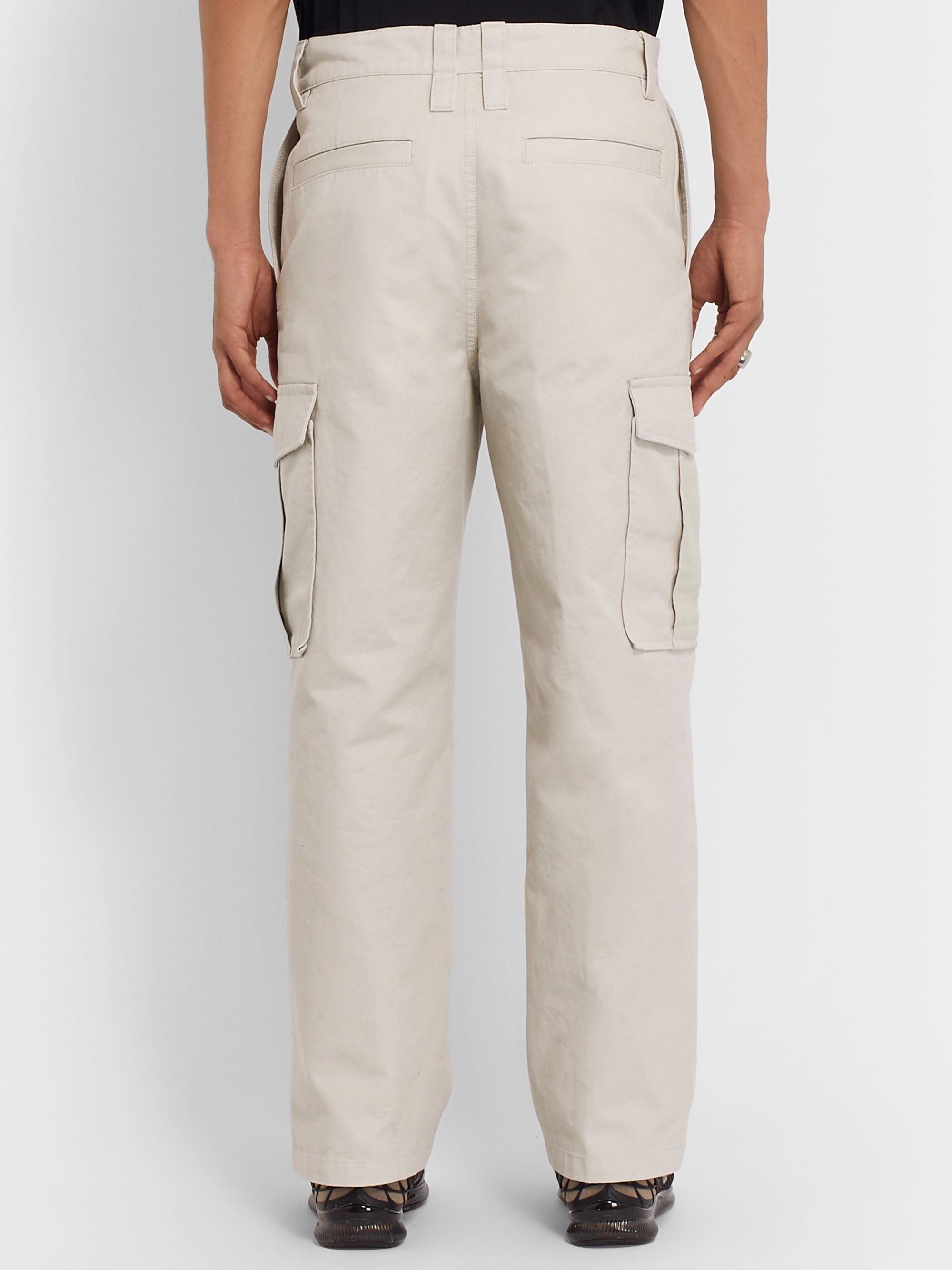 Acne Studios Cotton-Canvas Cargo Trousers