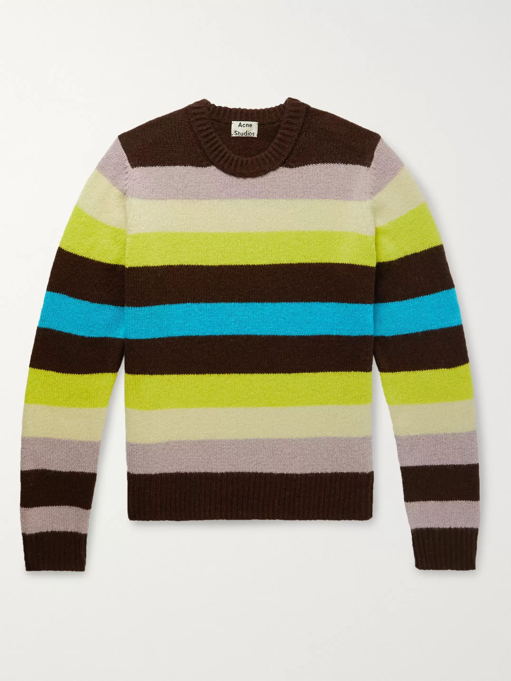 Acne Studios Striped Wool Sweater