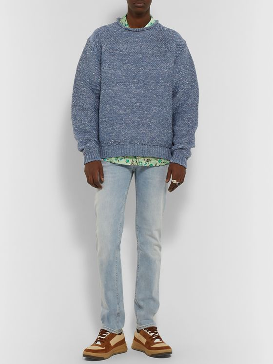 ACNE STUDIOS Oversized Mélange Knitted Sweater