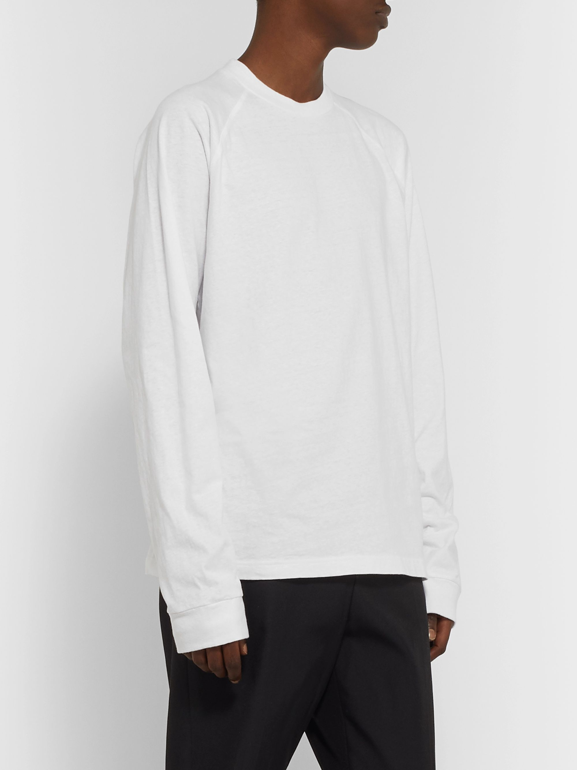 Acne Studios Logo-Appliquéd Cotton-Jersey T-Shirt
