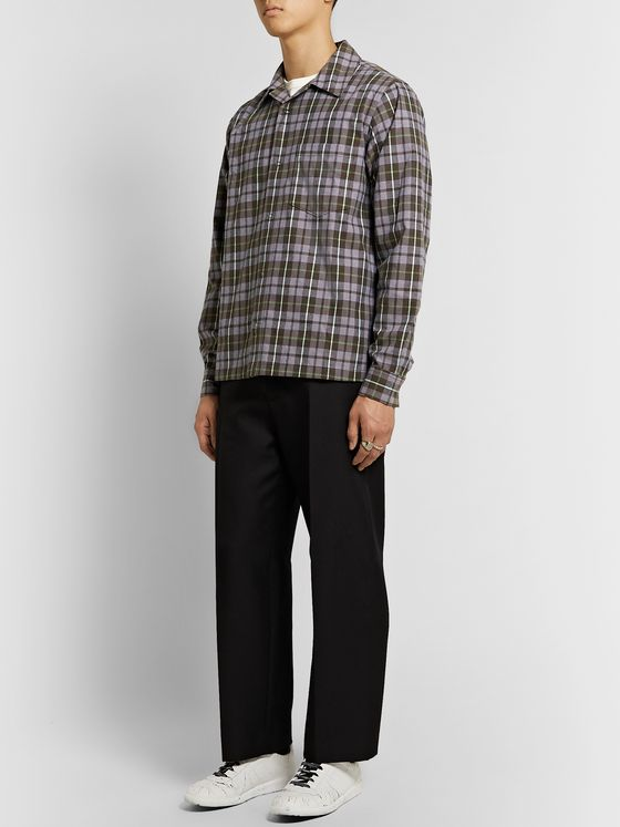 Acne Studios Denver Checked Flannel Shirt