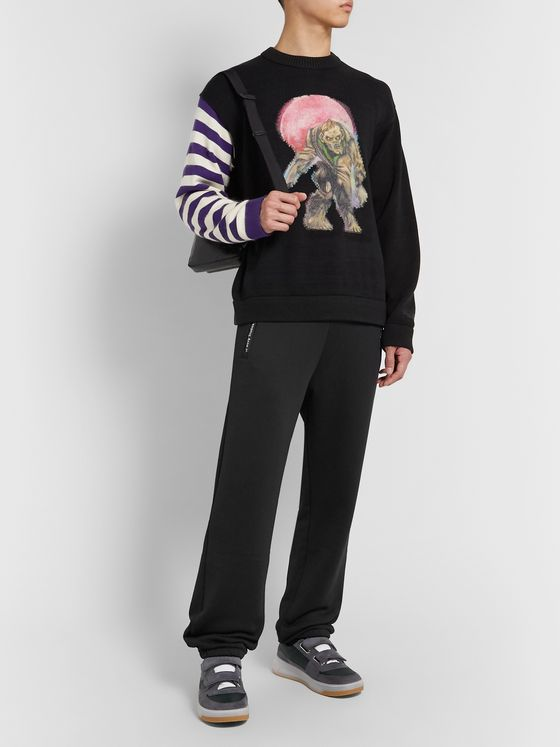 Acne Studios Loopback Cotton and Nylon-Blend Jersey Sweatpants