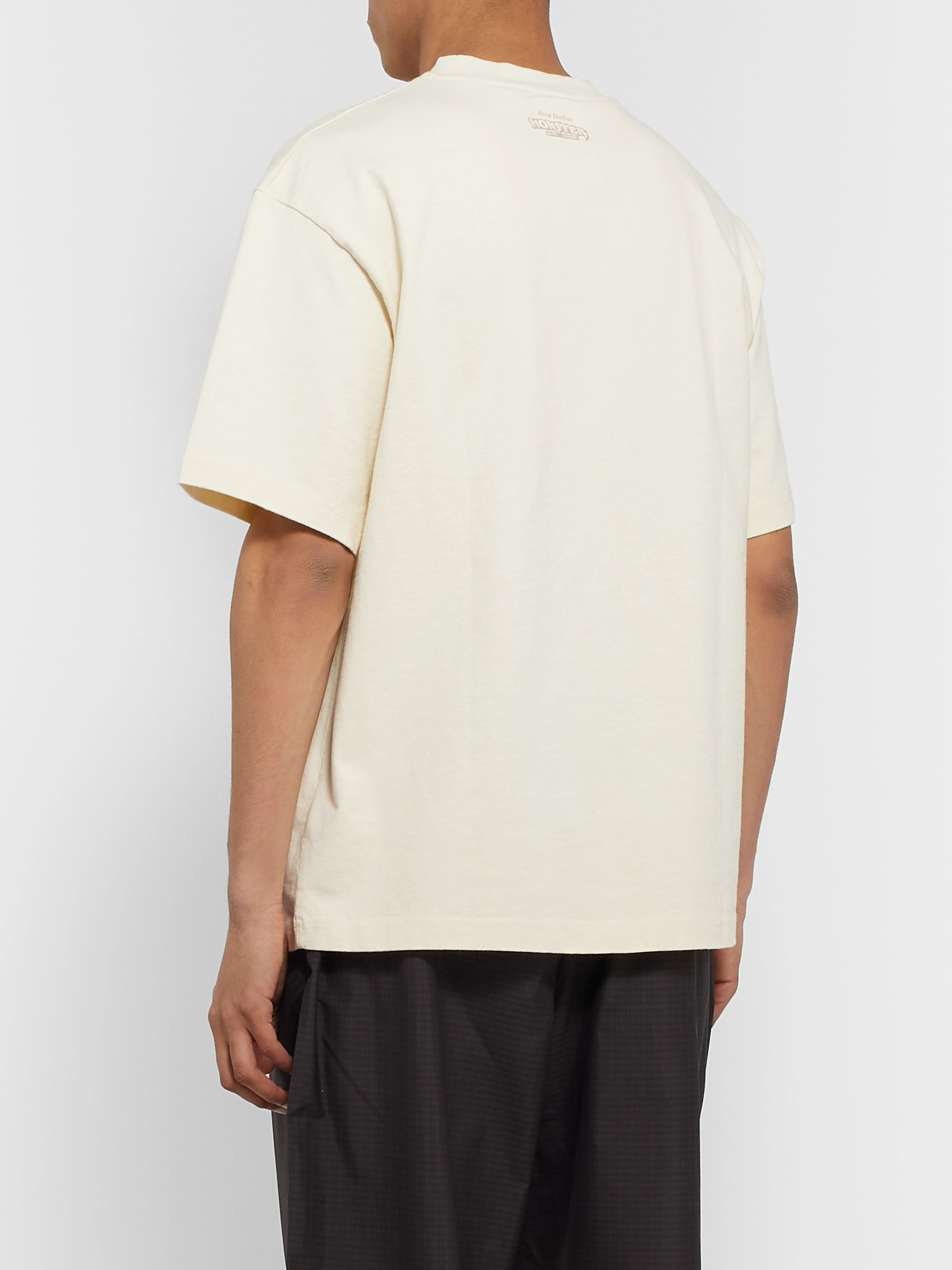 Acne Studios + Monster in My Pocket Printed Cotton-Jersey T-Shirt