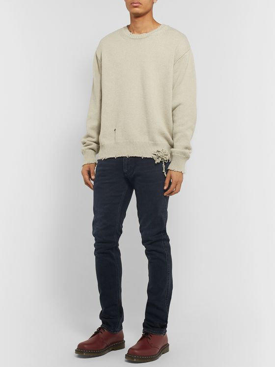Acne Studios Slim-Fit Stretch-Denim Jeans