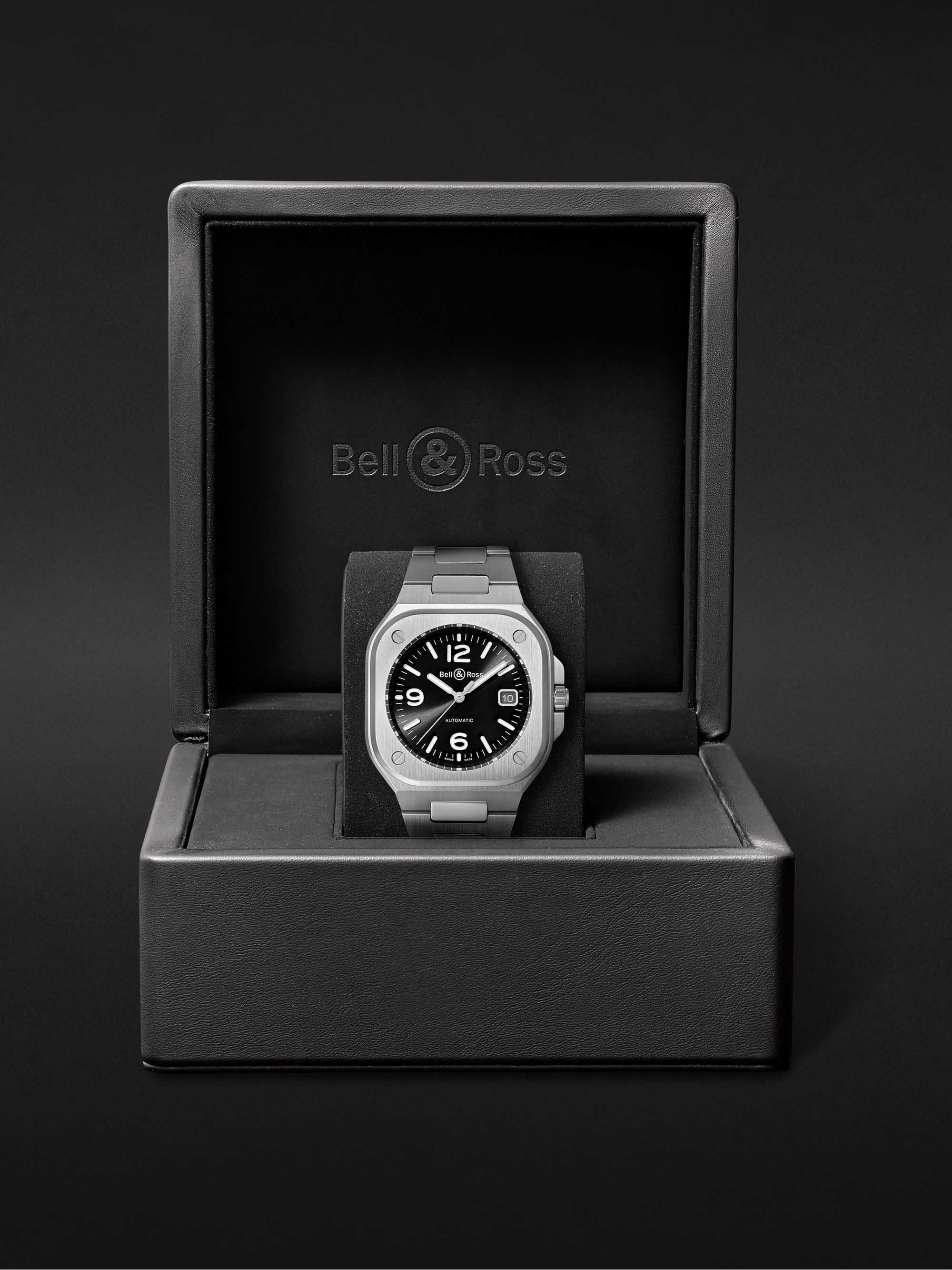 Bell & Ross BR 05 Automatic 40mm Steel Watch, Ref. No. BR05A-BL-ST/SST
