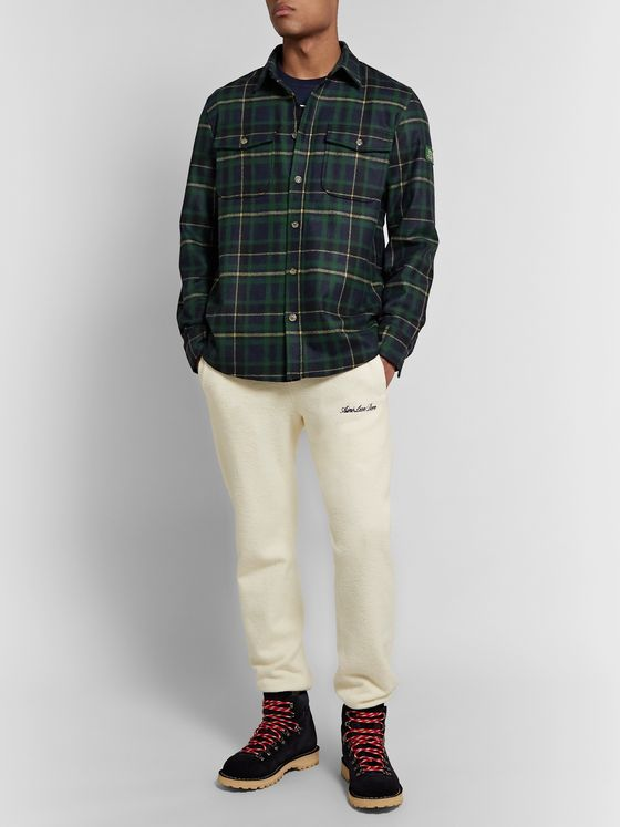 Aimé Leon Dore + Woolrich Checked Wool-Blend Flannel Shirt