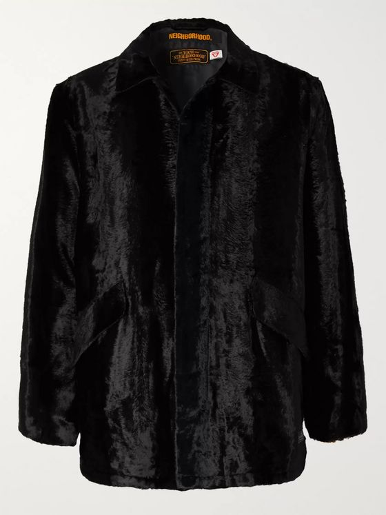 Neighborhood Faux Fur Primaloft Coat