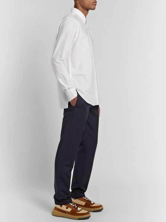 Acne Studios Logo-Appliquéd Cotton Oxford Shirt