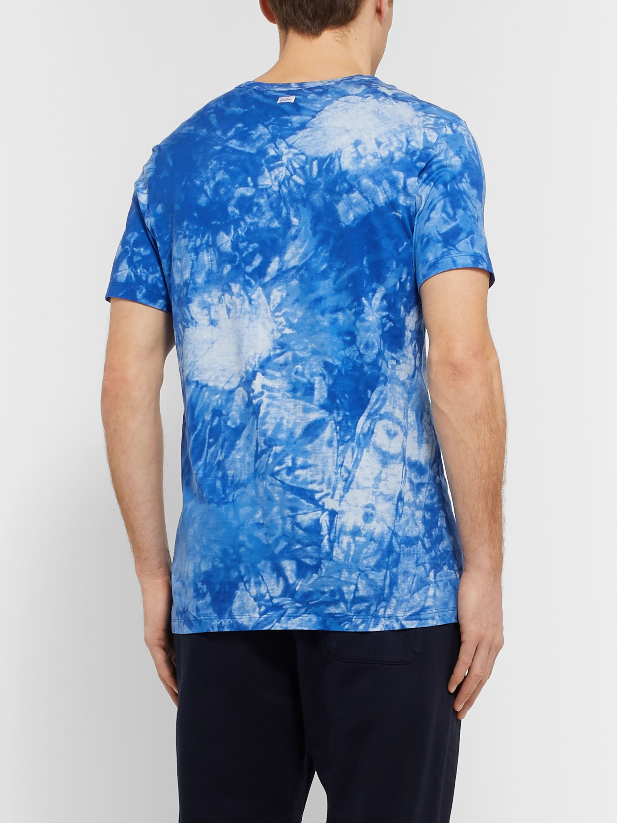 Schiesser Georg Tie-Dyed Cotton-Jersey T-Shirt