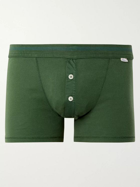 Schiesser Karl Heinz Cotton Boxer Briefs