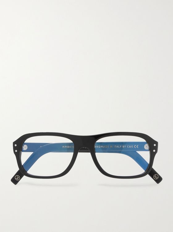 KINGSMAN + Cutler and Gross Eggsy's Square-Frame Acetate Optical Glasses