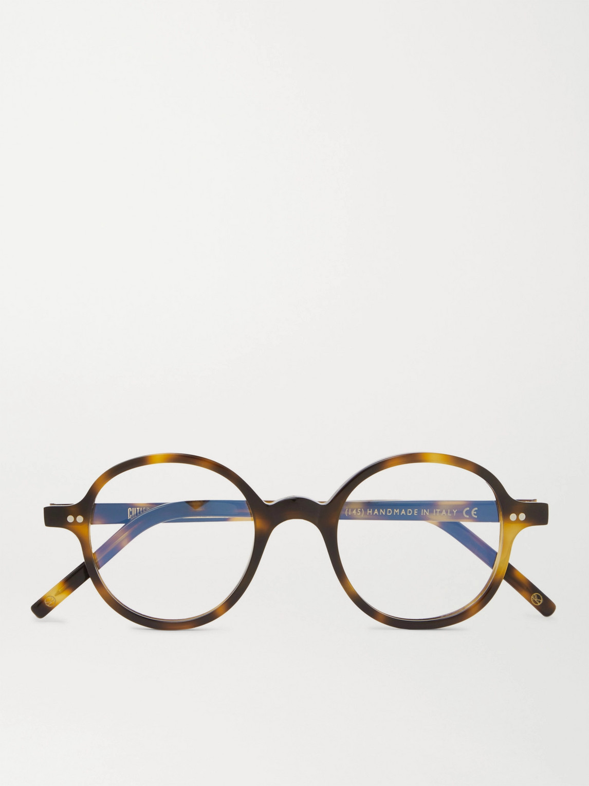 Kingsman Cutler And Gross Round-frame Tortoiseshell Acetate Optical Glasses