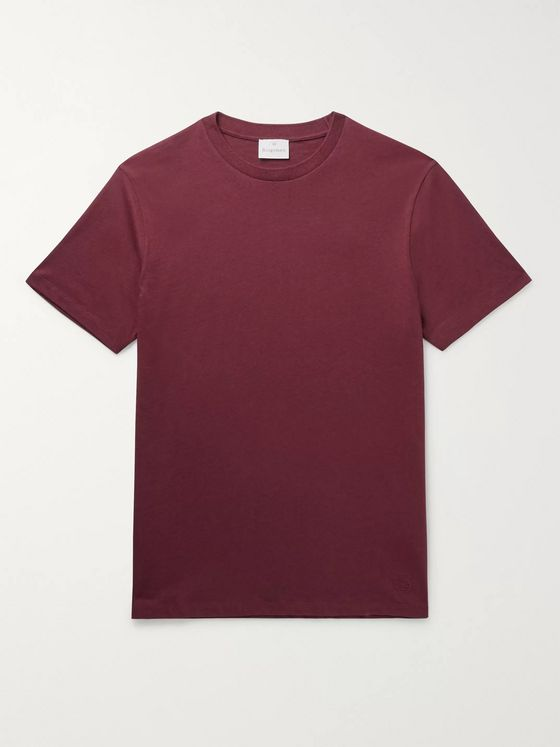 Kingsman Cotton and Cashmere-Blend Jersey T-Shirt