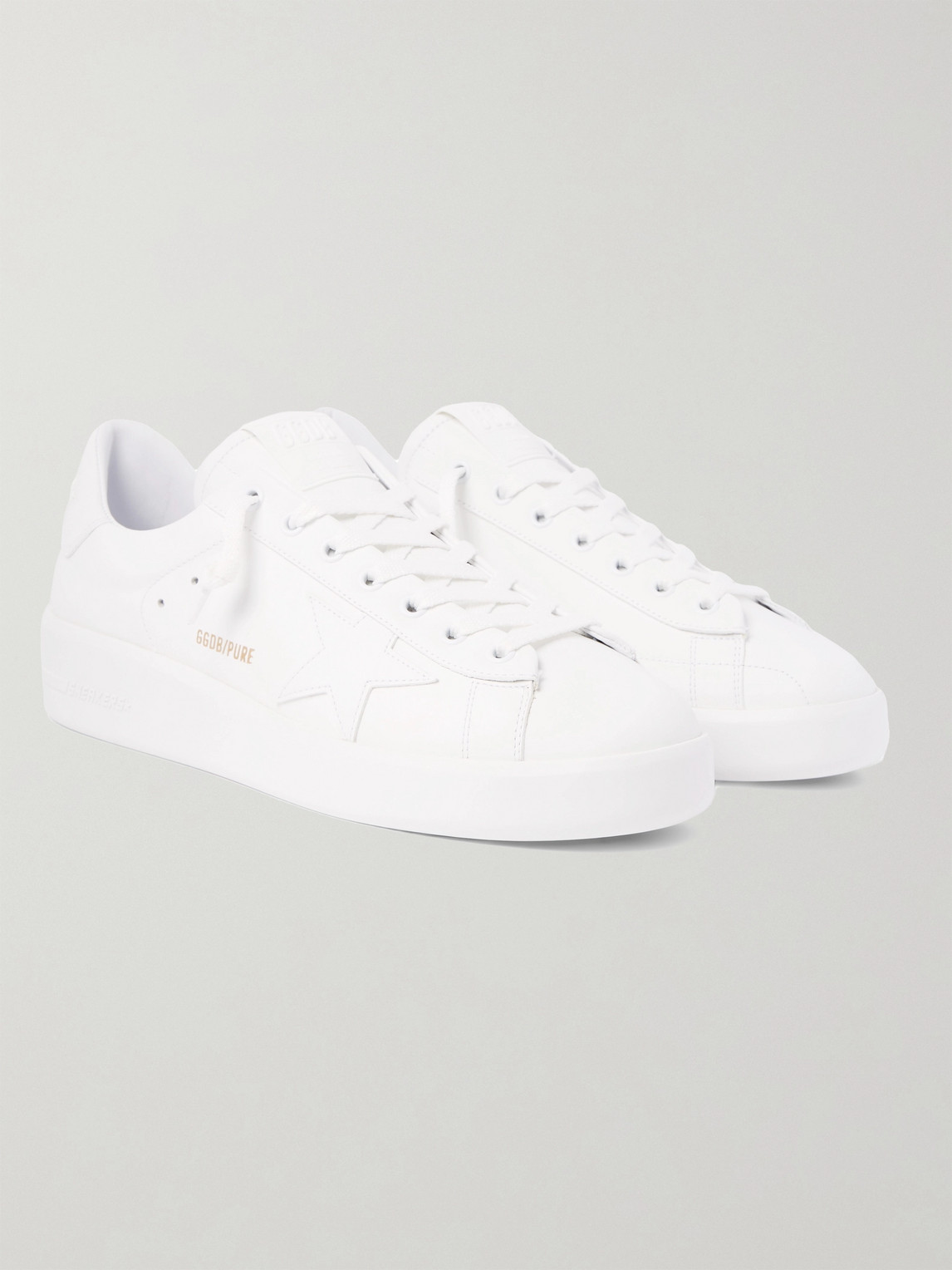 Golden Goose Unisex Pure Star Leather