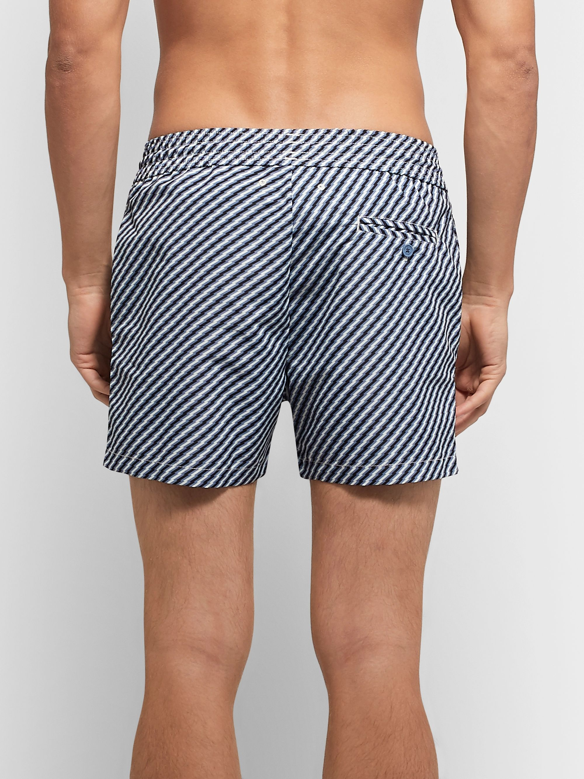 Frescobol Carioca Pepê Slim-Fit Short-Length Printed Swim Shorts