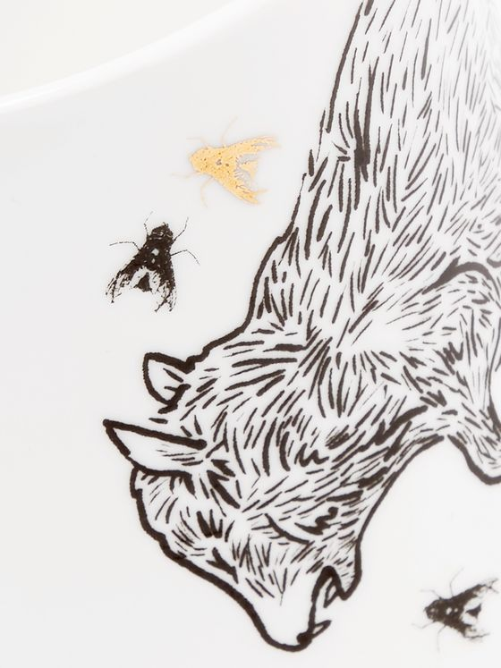 Aries Printed Bone China Mug