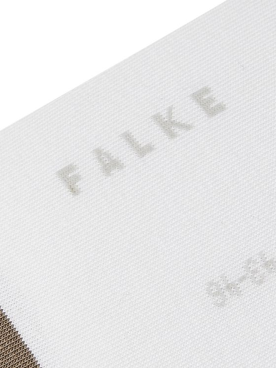 FALKE Colour-Block Cotton-Blend No-Show Socks