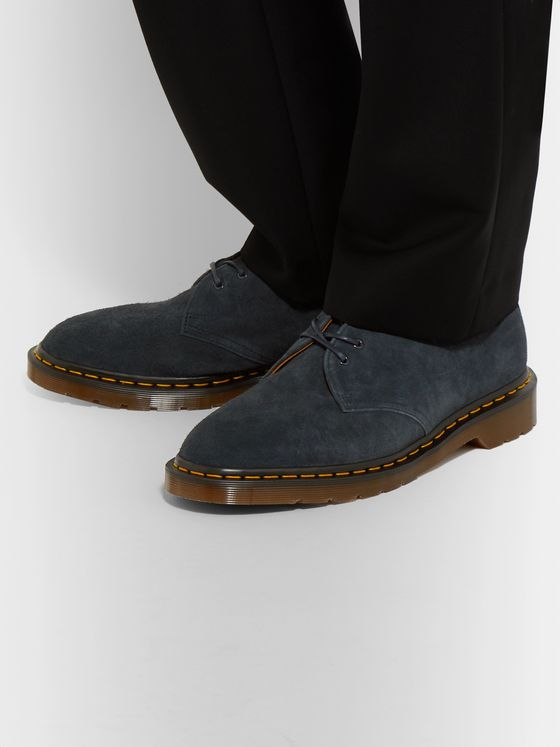 Dr. Martens Steed Suede Derby Shoes