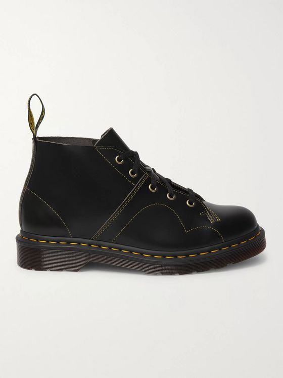 DR. MARTENS Monkey Leather Derby Shoes