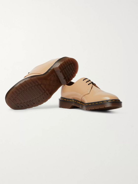 Dr. Martens + Undercover Patent-Leather Derby Shoes