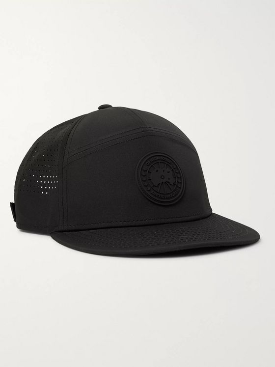 Canada Goose Logo-Appliquéd Perforated Shell Baseball Cap
