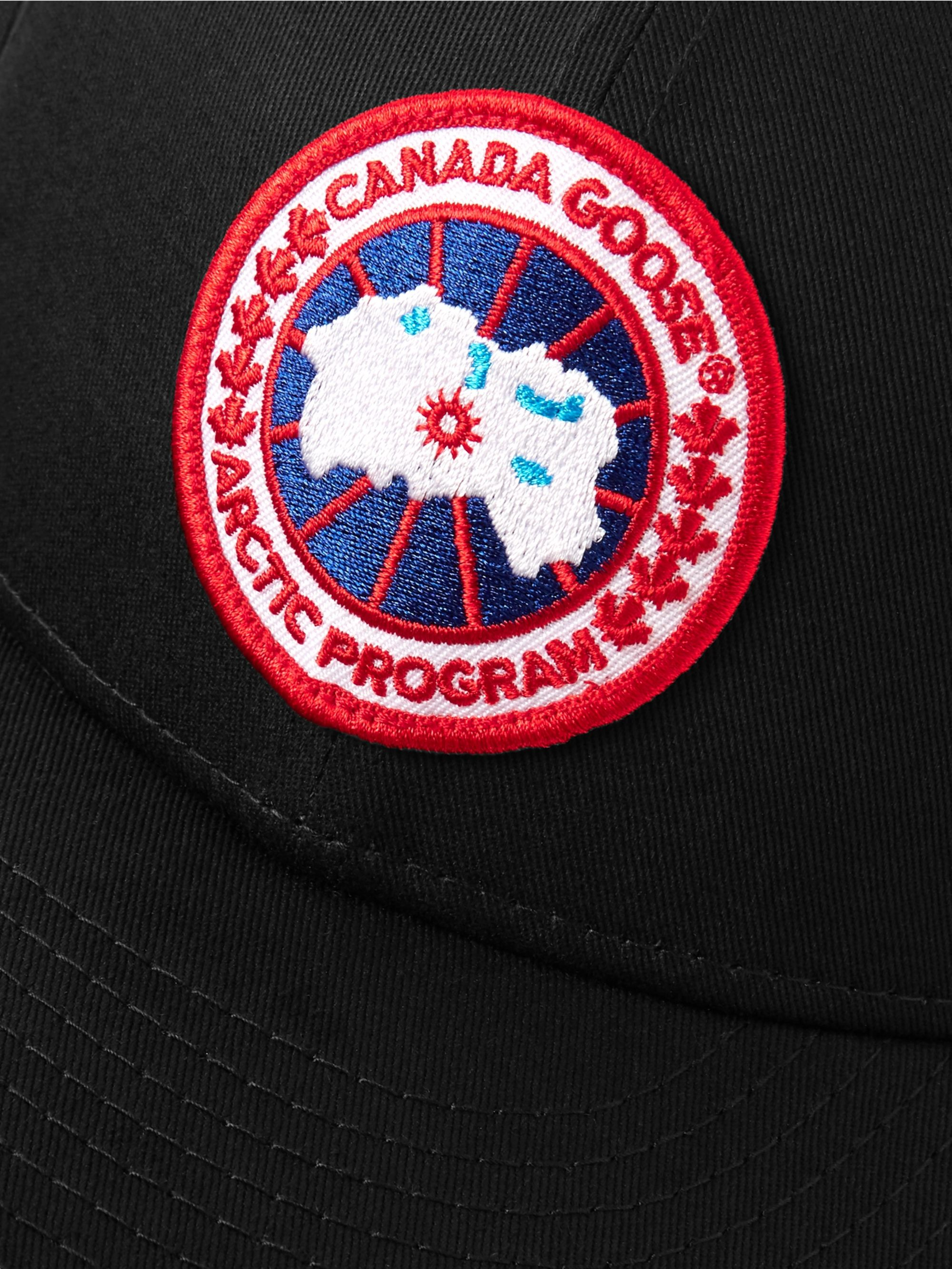 Canada Goose + New Era 9FIFTY Logo-Appliquéd Cotton-Twill Baseball Cap