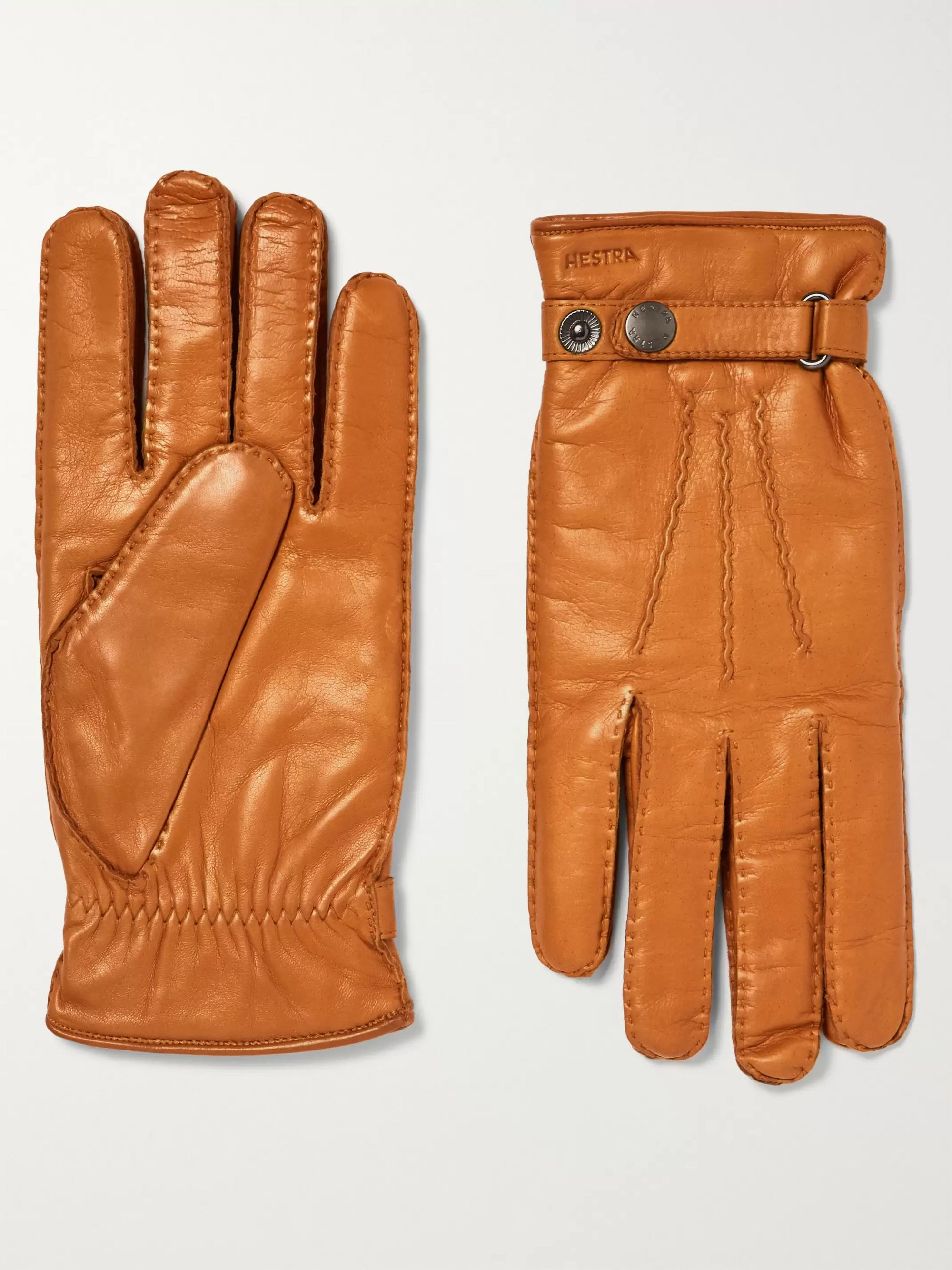 Hestra Jake Wool-Lined Leather Gloves