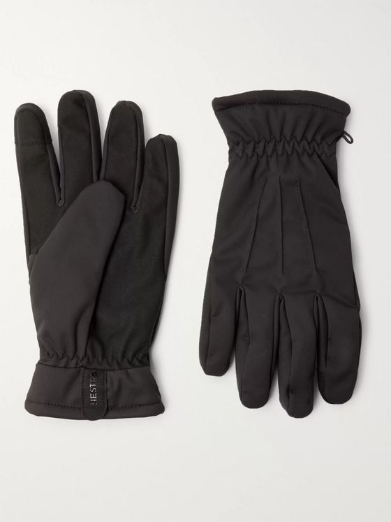 HESTRA Duncan Touchscreen Fleece-Lined Shell Gloves