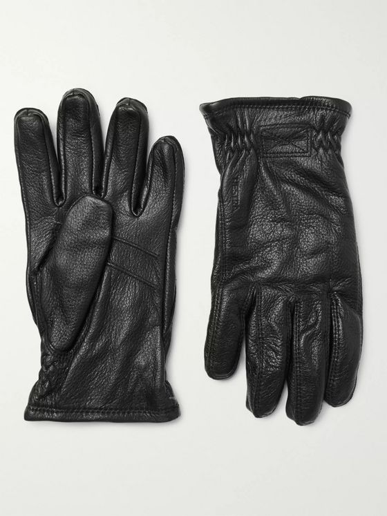 HESTRA Sarna Full-Grain Leather Gloves