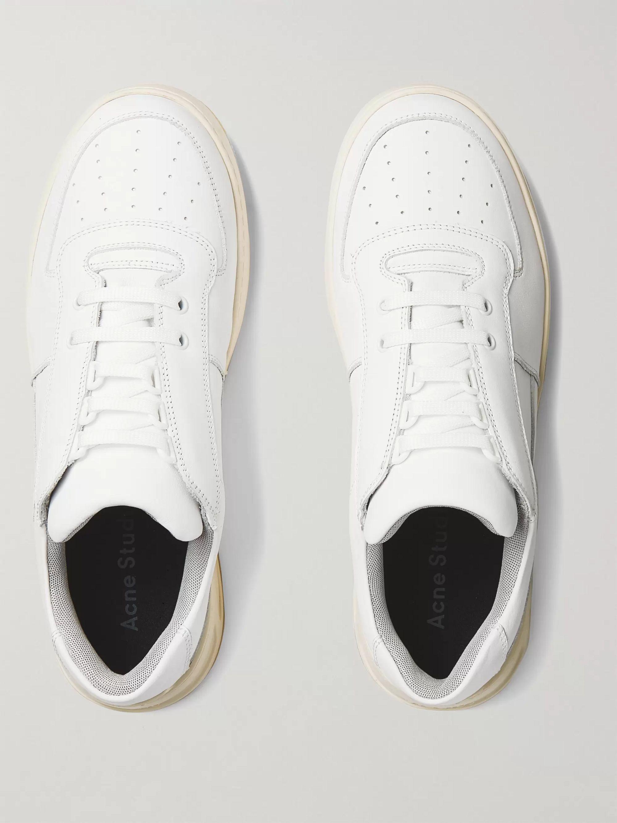Leather Sneakers | Acne Studios | MR PORTER