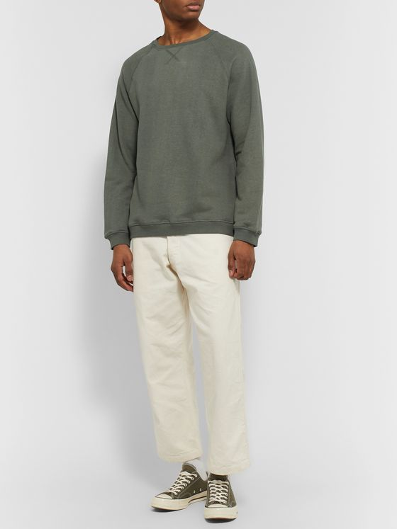 Satta Kona Mélange Loopback Hemp and Organic Cotton-Blend Jersey Sweatshirt