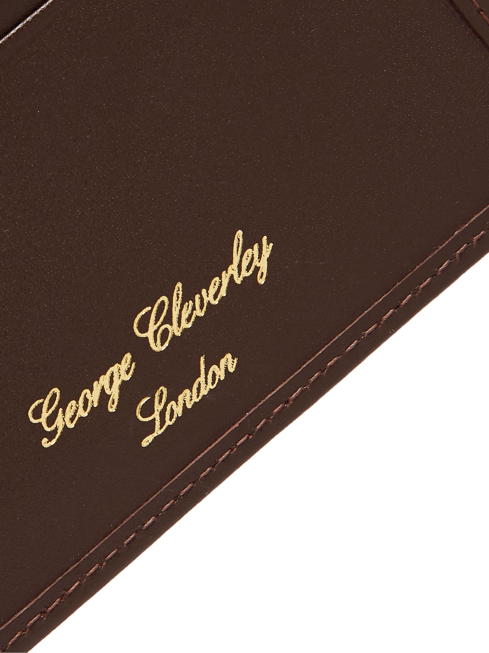George Cleverley Leather Cardholder