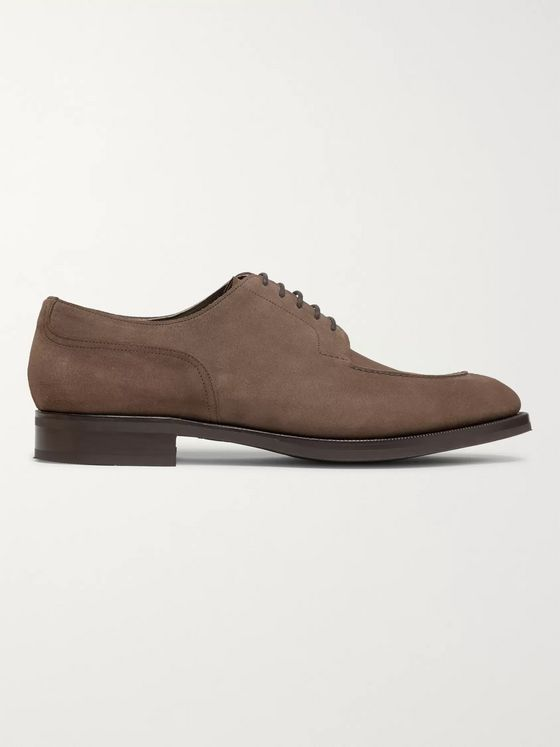 Edward Green Dover Suede Derby Shoes