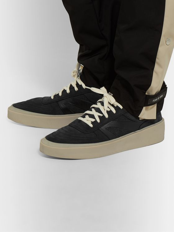 Fear of God Leather, Nubuck and Mesh Sneakers