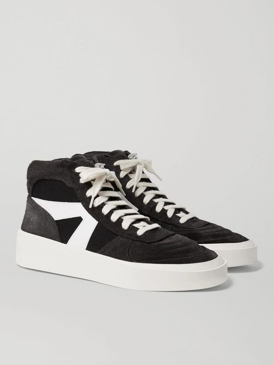 Nike Air Fear Of God 1 Hi top Sneakers in Black Lyst