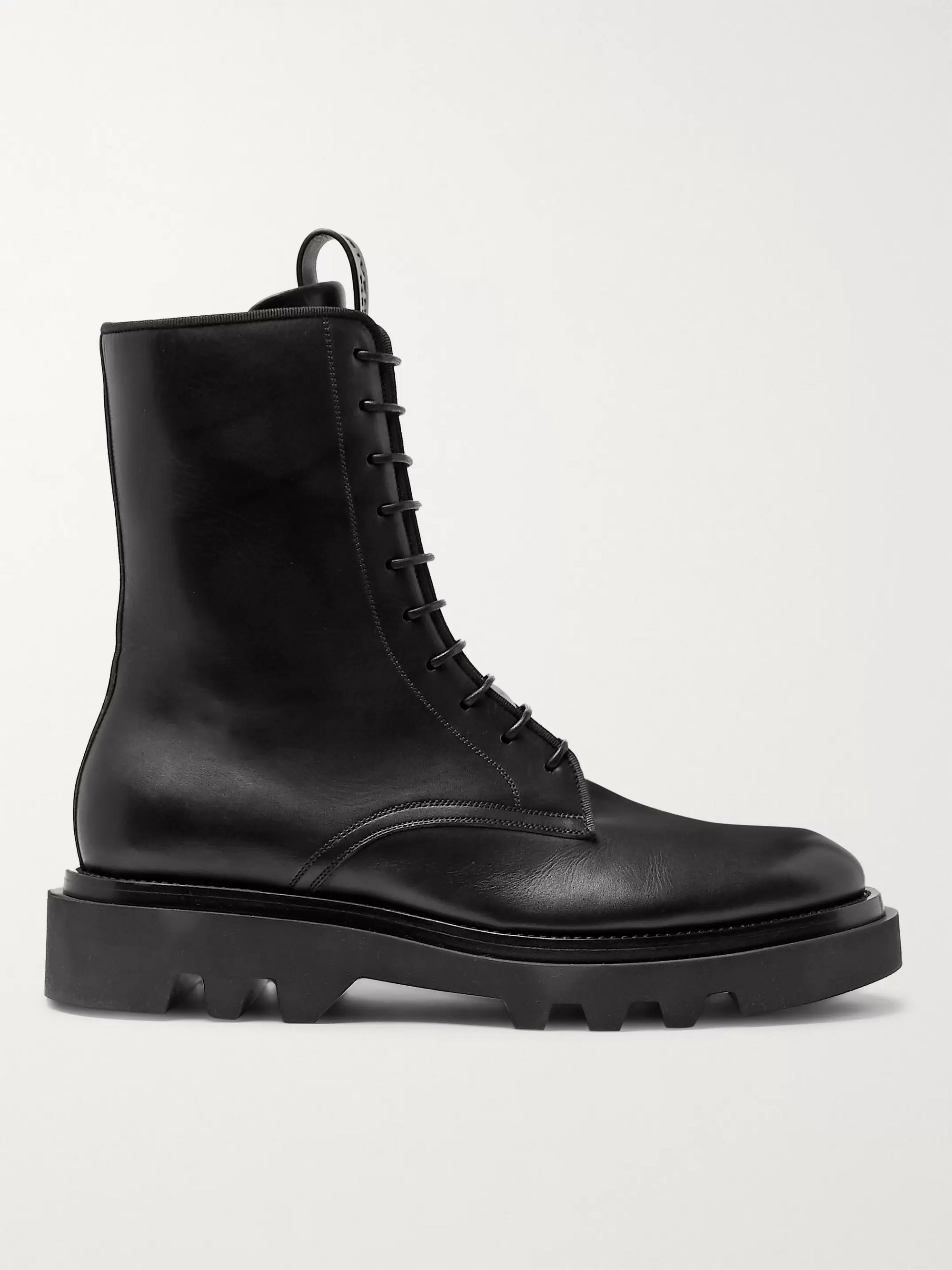 Givenchy Cruz Trek Leather Boots