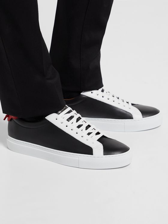 Givenchy Urban Street Colour-Block Leather Sneakers