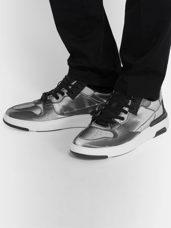 Givenchy Wing Holographic Canvas Sneakers