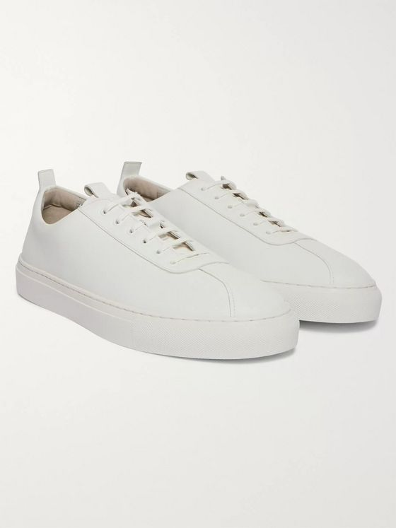 Grenson Faux Leather Sneakers