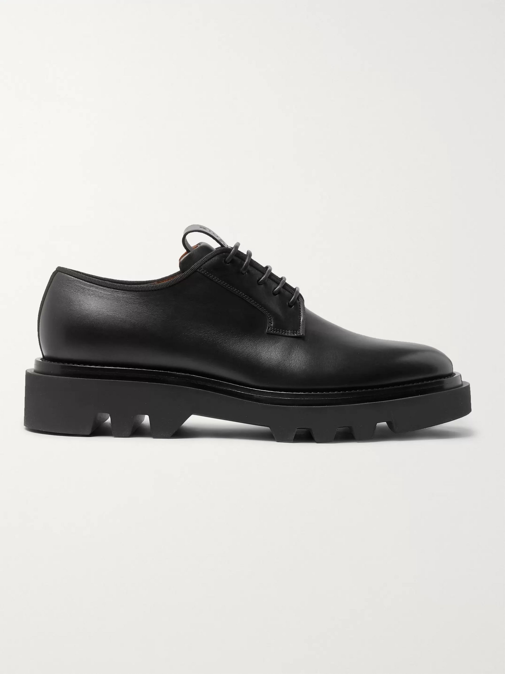 Givenchy Cruz Trek Leather Derby Shoes