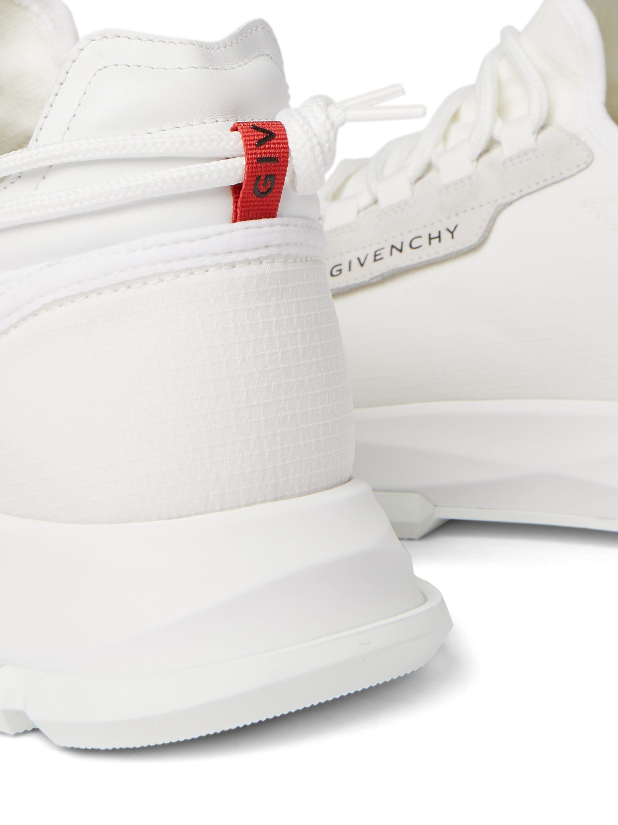 Givenchy Spectre Leather-Trimmed Neoprene Sneakers