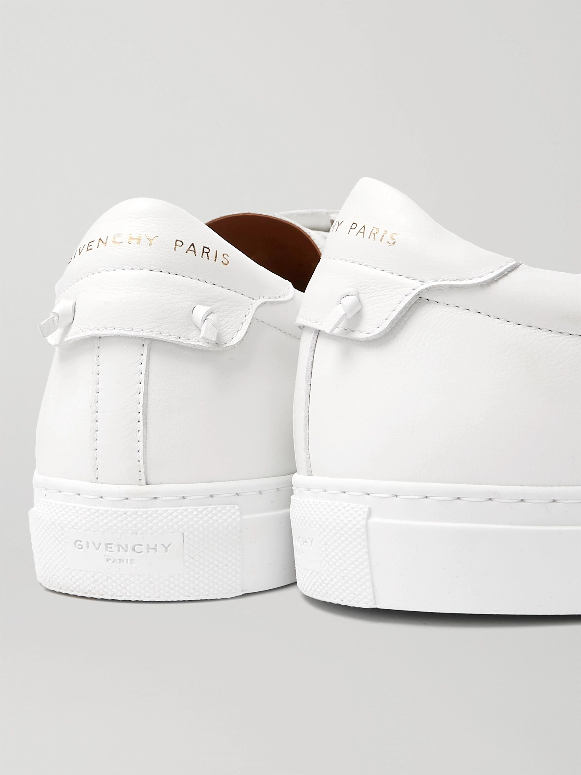 White Urban Street Leather Sneakers   Givenchy