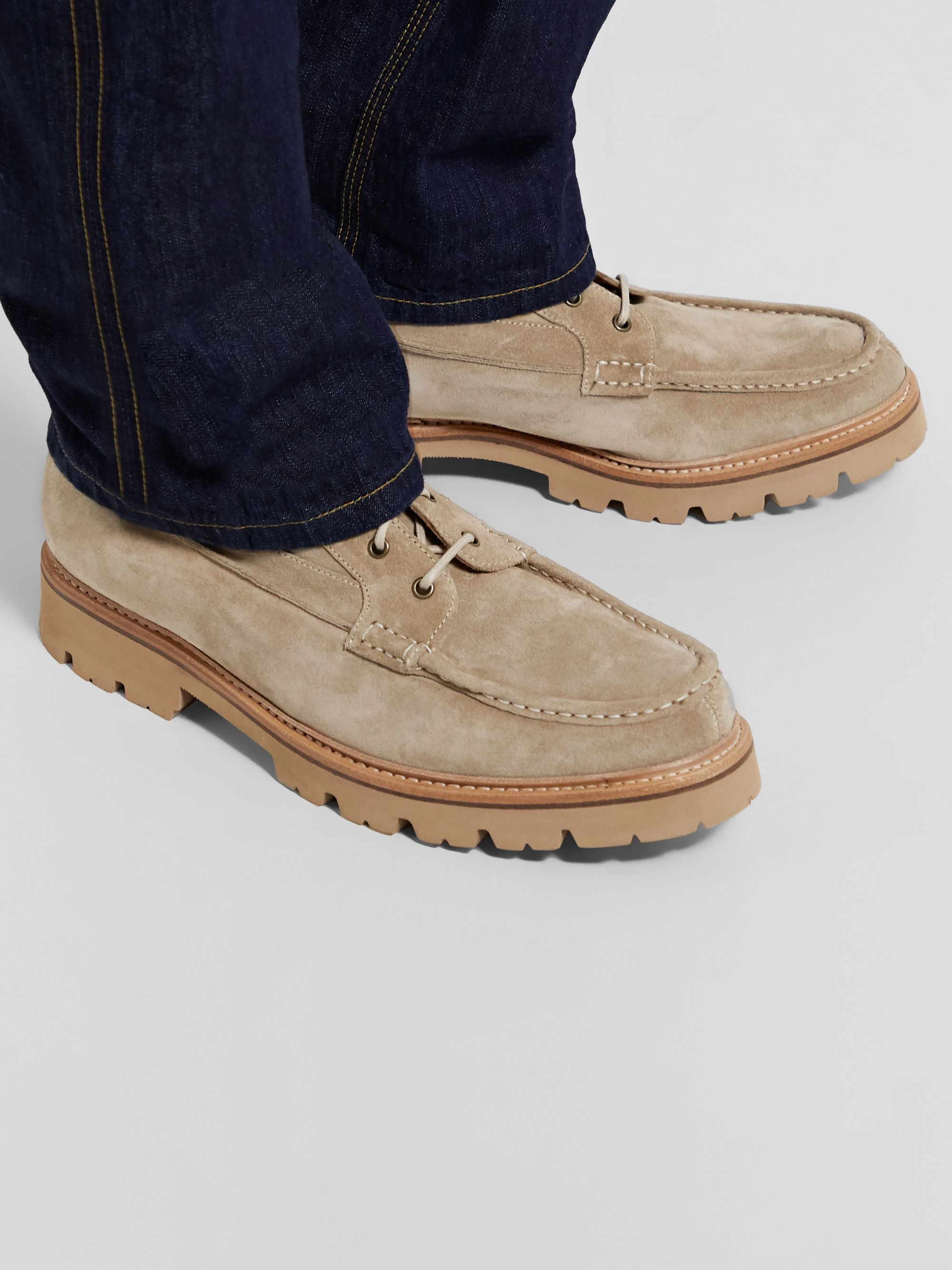 Grenson Rocco Suede Boots