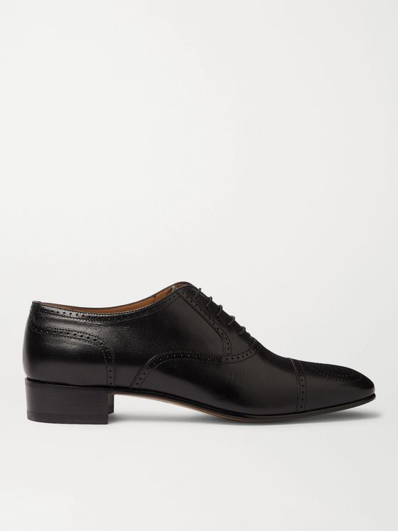GUCCI Dracma Leather Wingtip Brogues