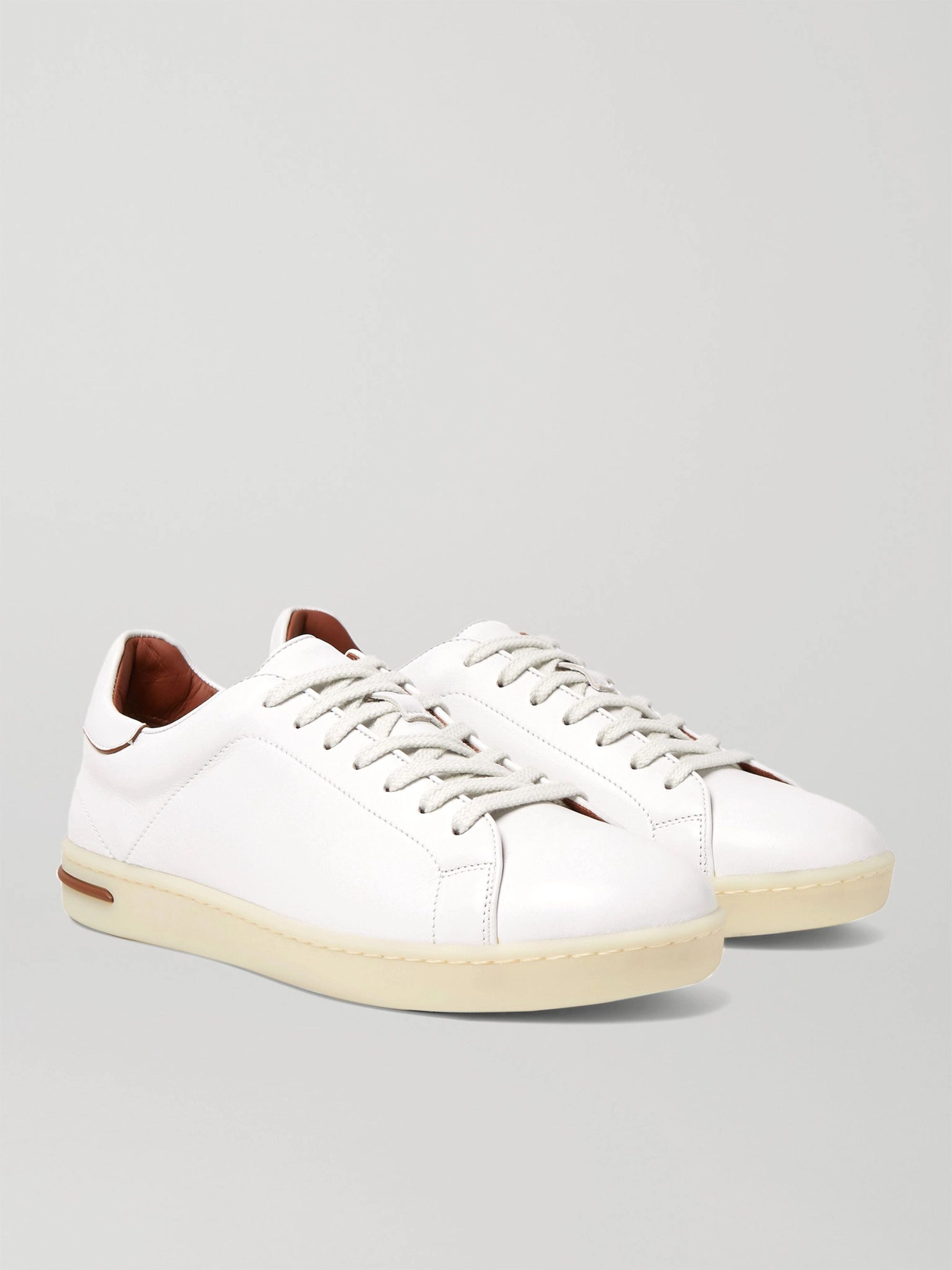 Loro Piana Traveller Walk Leather Sneakers
